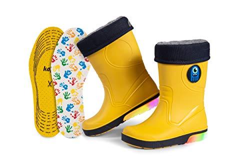 Kinder-Regenstiefel | Gummistiefel mit...