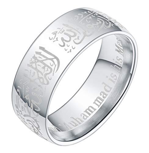 Boomly Paar Ringe Muslim Islam Arabisch Allah...