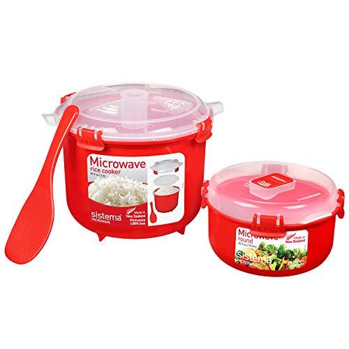 Sistema Mikrowelle-Reiskocher, Plastic, 2,6L and...