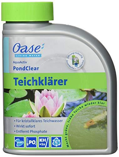 Oase 43140 AquaActiv PondClear Teichklärer 500 ml...