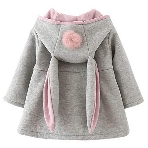 Odziezet Baby Mädchen Mäntel aus Baumwolle...