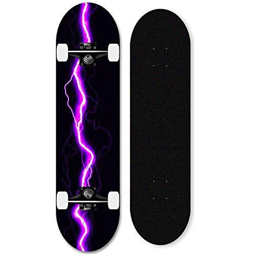 31-Zoll-Ahorn-Skateboard komplettes Deck für...
