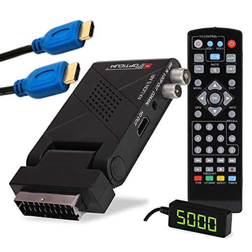 RED OPTICUM AX Lion 5 AIR DVB-T2 Receiver PVR...