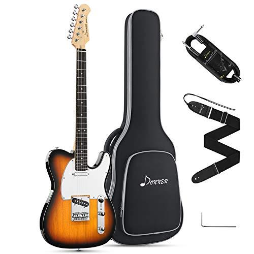 Donner E-Gitarre Telecaster E Gitarren Set volle...
