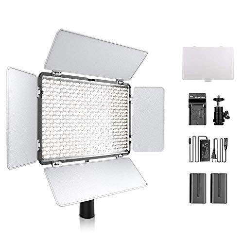 600 LED Dimmbare Ultra High Power Panel Camcorder...