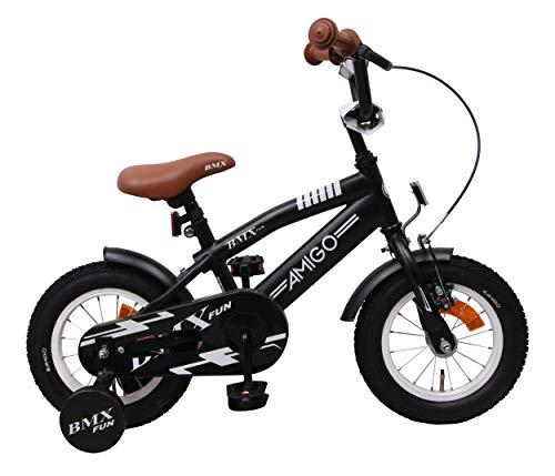Amigo BMX Fun - Kinderfahrrad für Jungen - 12...