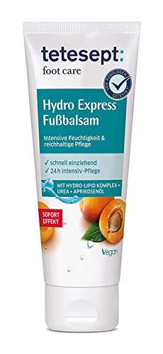 tetesept foot care Hydro Express Fußbalsam –...