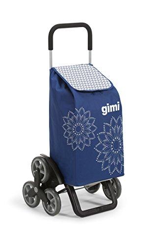 GIMI Tris Floral Blau Einkaufstrolley...