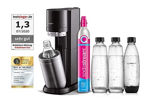 SodaStream Wassersprudler DUO mit CO2-Zylinder, 2x...