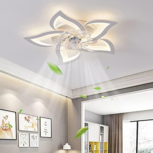 LED Dimmbar Deckenventilator Mit Lampe Modern...