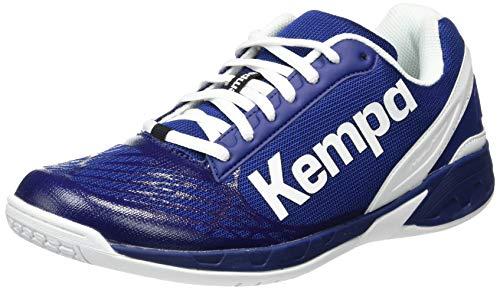 Kempa Herren Attack Indoor Handballschuh, Blau, 43...