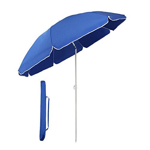 Sekey® Sonnenschirm 160 cm Marktschirm...