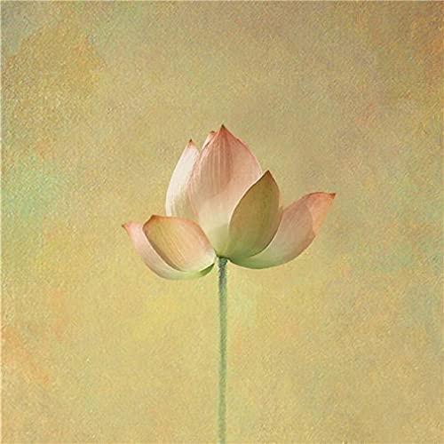 Lotus Leinwand Malerei Kunstdruck Poster Malerei...