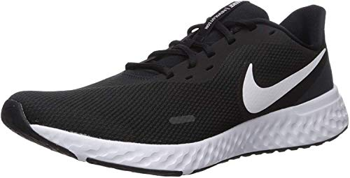 Nike Herren Revolution 5 Sneaker, Schwarz Black...
