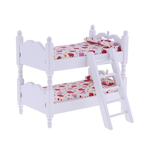 Baoblaze 1/12 Puppenstube Kinderzimmermöbel Mini...