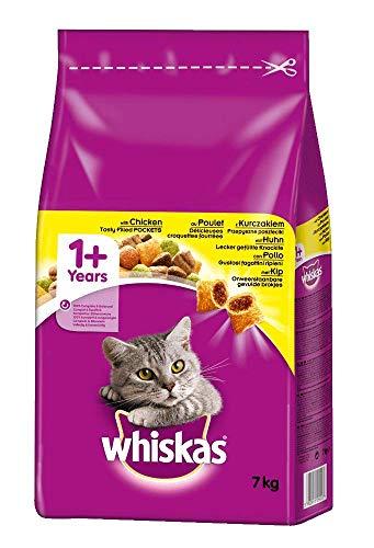 Whiskas Katzenfutter Trockenfutter Adult 1+ mit...