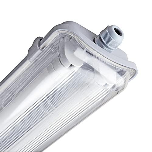 proventa® LED-Feuchtraumleuchte 120 cm, IP65, mit...