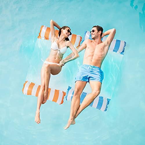 2Stk Luftmatratze Pool, Pool Spielzeug Erwachsene...