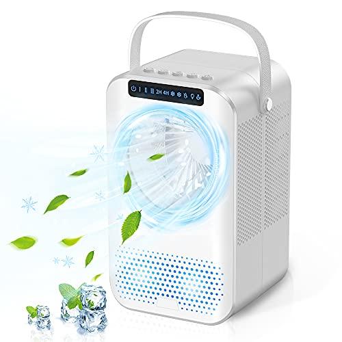 Mobile Klimagerät Mini luftkühler 600ML...