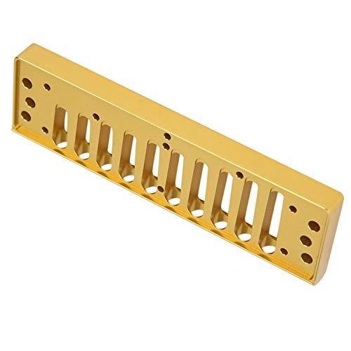 Hyuduo1 10 Loch Blues Harmonica Comb, Feinpolier...
