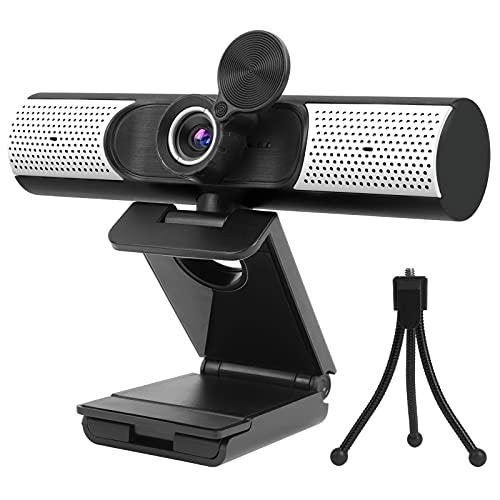 Webcam 1080P mit Mikrofon, Lautsprecher Abdeckung,...