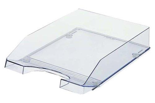Leitz Plus Briefkorb, Transparent, A4, Glasklar,...