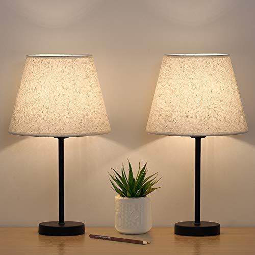 Kleine Tischlampe Nachttischlampen 2er-Set,...