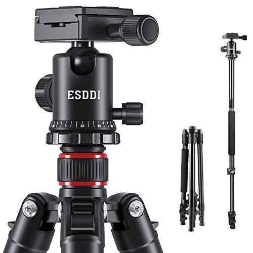 ESDDI Kamera Stativ 162cm Aluminiumlegierungen...