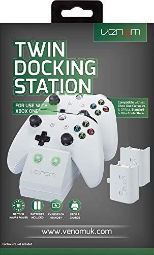 Venom Twin Docking Station inkl. 2 Zusatzakkus...