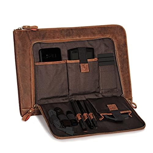 DONBOLSO® Notebook Sleeve London braun - 13,3...