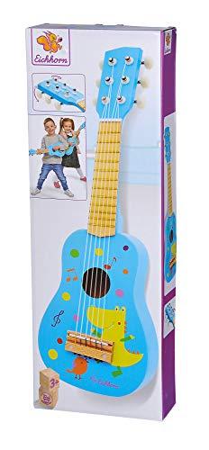 Eichhorn 100003480 Musik Holzgitarre stimmbare...