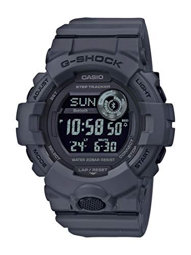 CASIO Herren Digital Quarz Uhr mit Resin Armband...