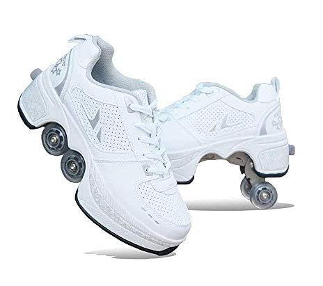 HUOQILIN Rollschuh Roller Skates...