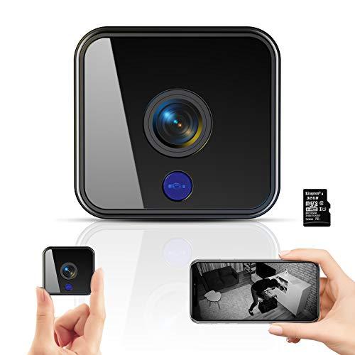 Mini Kamera,1080P HD Überwachungskamera Micro...