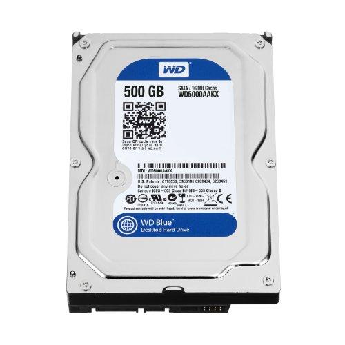 Western Digital WD5000AAKX Blue 500GB interne...