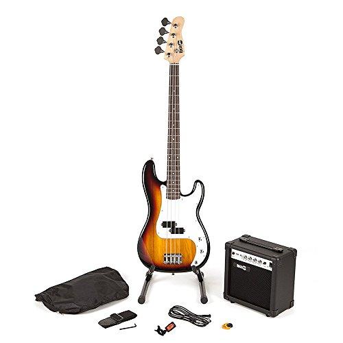 RockJam voller Größe Bassgitarre Super-Kit mit...