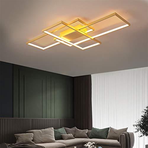 Wohnzimmerlampe LED Deckenleuchte Dimmbar...
