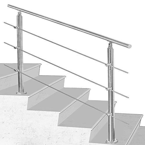 Hengda Edelstahl-Handlauf Geländer für Treppen...