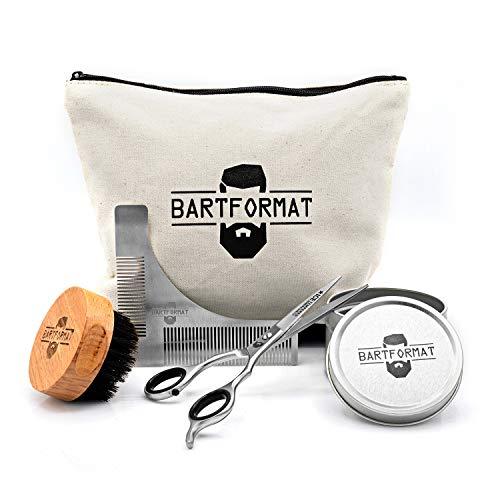BARTFORMAT® 4-teiliges Bartpflege-Set...