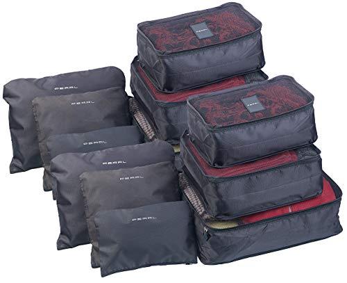 PEARL Koffertaschen: 12er-Set Kleidertaschen für...