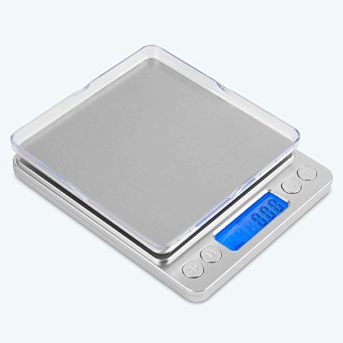Küchenwaage Digital, Mafiti Feinwaage 0.1g/3kg,...