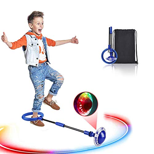 Swing Wheel mit Lichtrad, Kinder Blinkender...