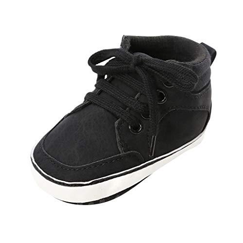 Unisex Sneakers Baby Jungen Schnürsenkel...