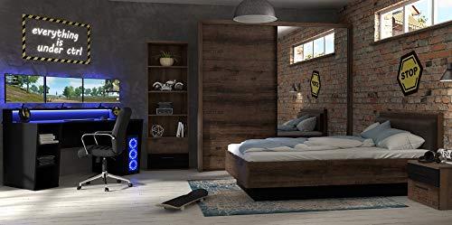 möbel-direkt Jugendzimmer Gamingzimmer Tezaur...
