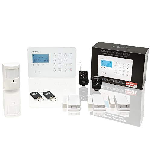 Safe2Home® Funk Alarmanlagen Set SP110 mit...