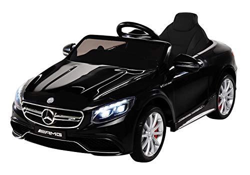 Kinder Elektroauto Mercedes Amg S63 - Lizenziert -...