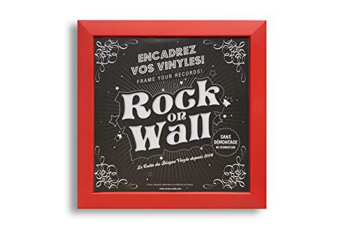 Rot Rock on Wall Bilderrahmen MaÃ?e 378 x 378 x...
