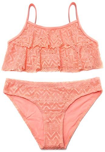 SHEKINI Mädchen Zweiteiler Bikini Badeanzug...