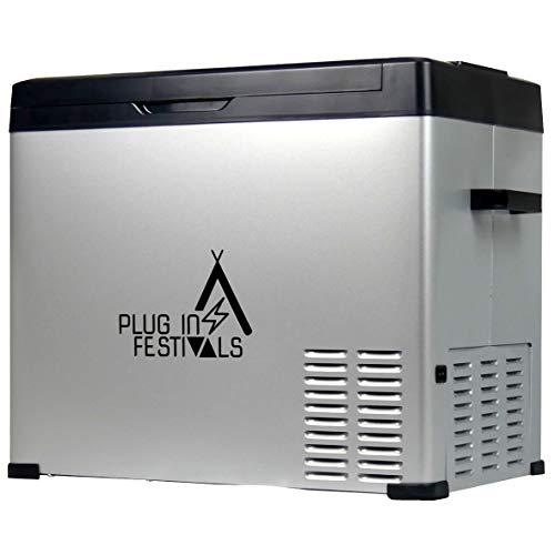 PLUG IN FESTIVALS ® Kompressor Kühlbox 12V 230V...