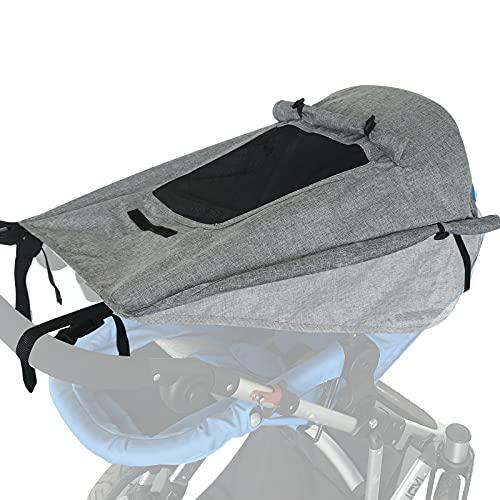 WD&CD Sonnensegel Kinderwagen mit UV Schutz 50+...